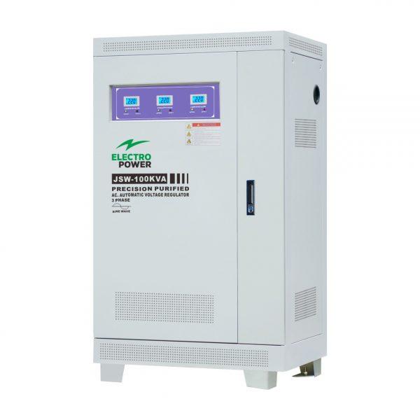Stabilizator tensiune precizie EP-JSW-100kVA(80kW)-380V