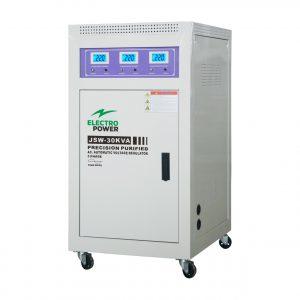 Stabilizator tensiune precizie EP-JSW-30kVA(24kW)-380V