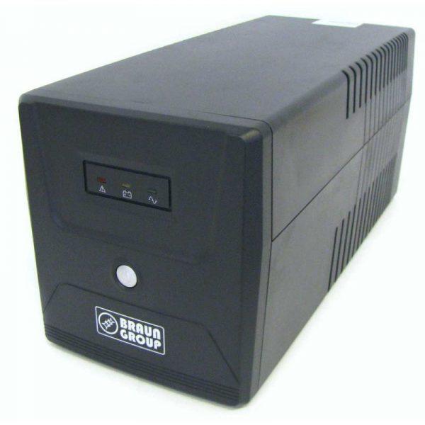 Sursa UPS Braun Group line-interactive 1500VA LED