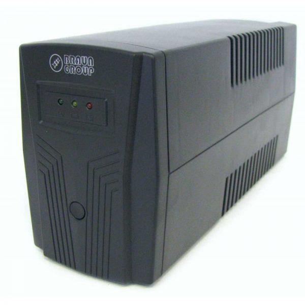 Sursa UPS Braun Group line-interactive 650VA LED