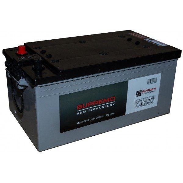 Baterie stationara AGM 220Ah, 12V