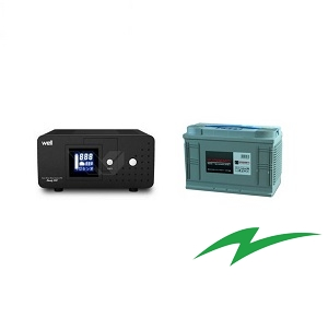 Sursa UPS pentru centrale termice 800VA plus baterie stationara 12V-100Ah