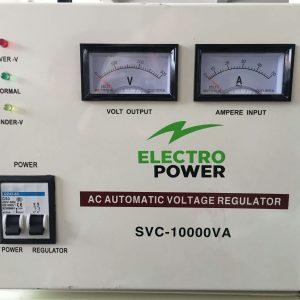 stabilizator de tensiune cu servomotor pentru casa