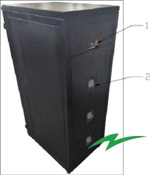 Stabilizator tensiune servomotor Electropower EP-TNS-15kVA-(12000W)-400V back