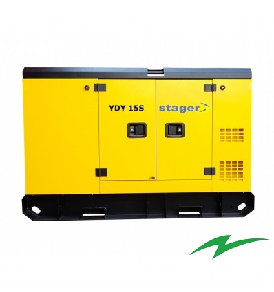 Generator Stager YDY15S insonorizat diesel