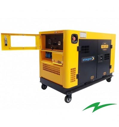 Generator insonorizat Stager YDE12TD, monofazat 2