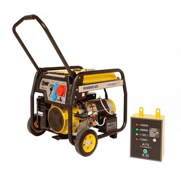 Generator Stager FD10000E3 cu automatizare