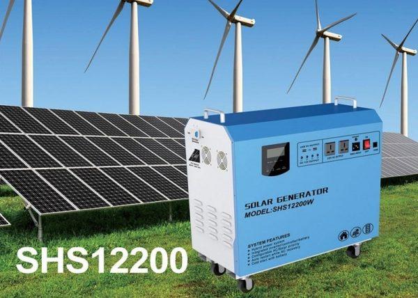 Sistem generator solar 800W 2