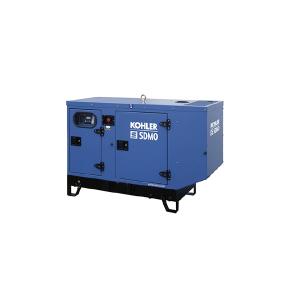 Grup electrogen SDMO 22kW trifazat, motor Kohler, insonorizat